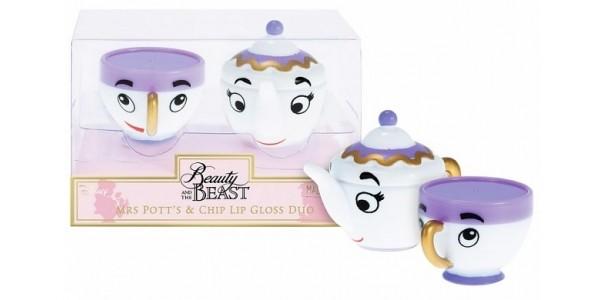 Beauty and The Beast Mrs Potts & Chip Lip Balm Duo Coming Soon @ TruffleShuffle
