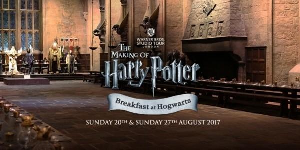 Breakfast At Hogwarts @ The Making Of Harry Potter Warner Bros Studio Tour