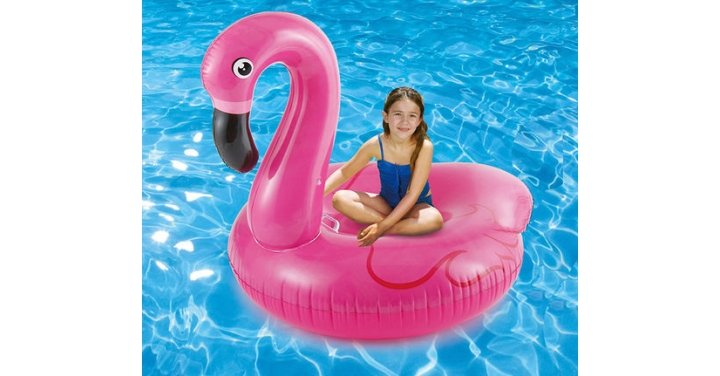 Sizzlin 39 cool pool large inflatable flamingo now - Toys r us swimming pools for kids ...