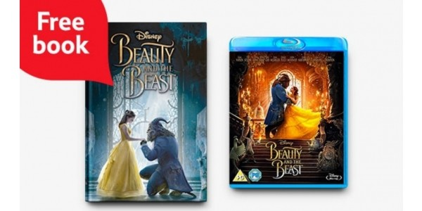 FREE Beauty And The Beast Book When You Buy The DVD Or Blu-Ray @ Tesco Direct