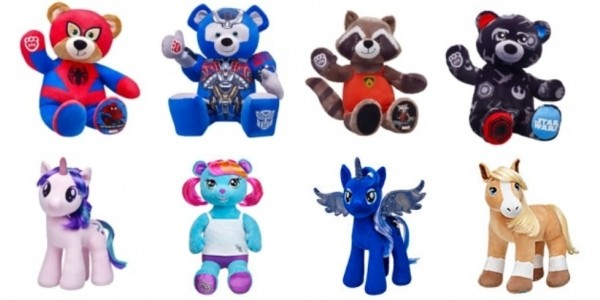 2 For £30 Furry Friends Including NEW Spider-Man Bear @ Build-a-Bear