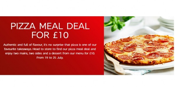 Pizza Meal Deal £10 @ Marks And Spencer