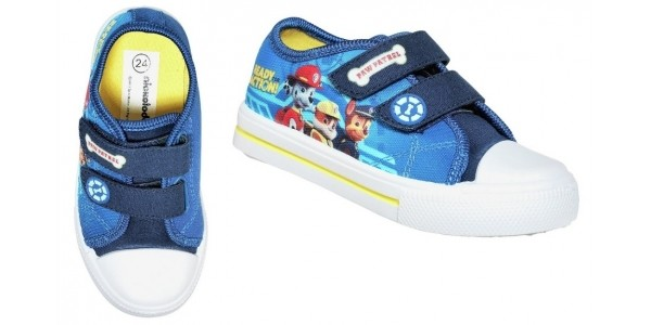 Paw Patrol Canvas Trainers £5.99 (was £9.99) @ Argos (Expired)