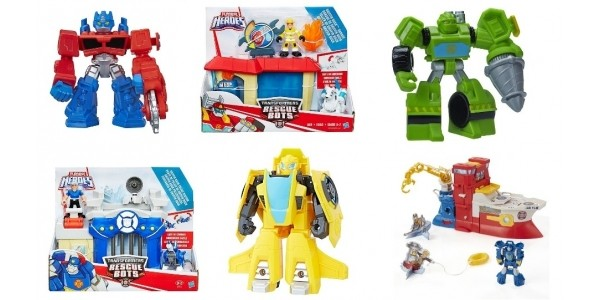 Up To 70% Off Playskool Heroes Transformers Rescue Bots @ The Entertainer
