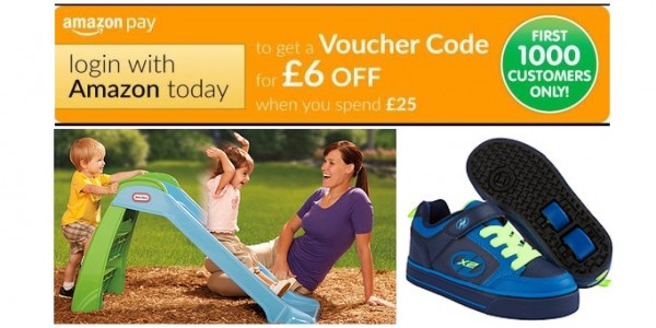 £6 Off When You Spend £25+ With Amazon Pay @ The Entertainer