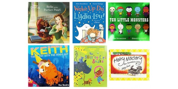 10 Children's Books For £10 Delivered (Using Code) @ The Works