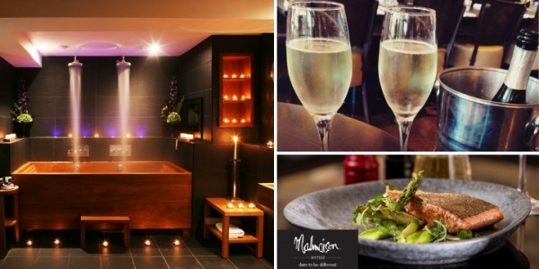 One Night Stay, Two Course Meal & Prosecco For Two From £99 @ Malmaison