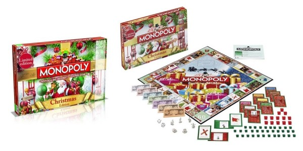 Monopoly Christmas Edition Board Game £21.99 Delivered @ Amazon Seller: Synergy Shop