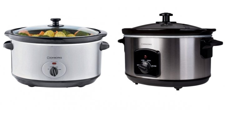 Cookworks 5 5l Slow Cooker Stainless Steel 163 14 99 Argos