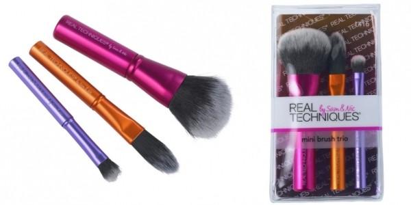 Real Techniques Mini Brush Trio £5.99 @ Argos / Amazon