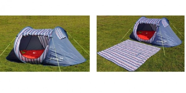 Eurohike Nautical Pop Up SD 2 Man Tent £15.30 (With Code) @ Blacks