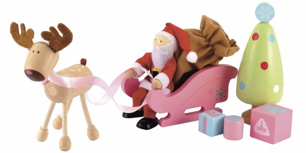 Rosebud Wooden Christmas Set £3.50 (was £12) @ ELC (Expired)