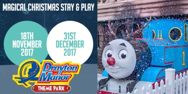 Christmas Stay & Play @ Drayton Manor Hotel