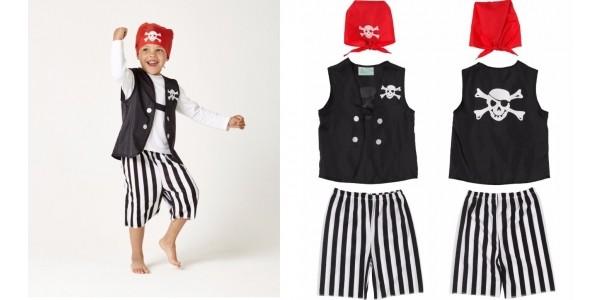 Pirate Dressing Up Costume £1.50 (was £12) @ ELC (Expired)