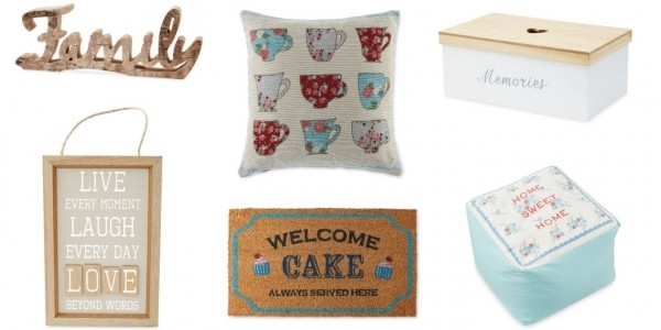 Home Accessories Specialbuys From £2.99 With Free Delivery @ Aldi