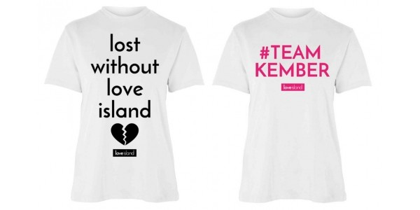 'Lost Without Love Island' Tees £6 @ Primark