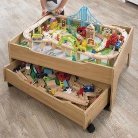 75% Off Reversible City & Train Table Set @ Studio (Expired)