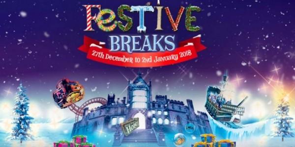 Festive Break Packages @ Alton Towers