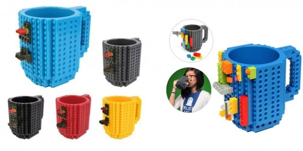 LEGO Compatible Mug £5.22 Delivered @ eBay Store: keythere360