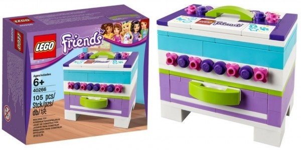 FREE Lego Friends Storage Box When You Spend £20 On Lego Friends @ Toys R Us