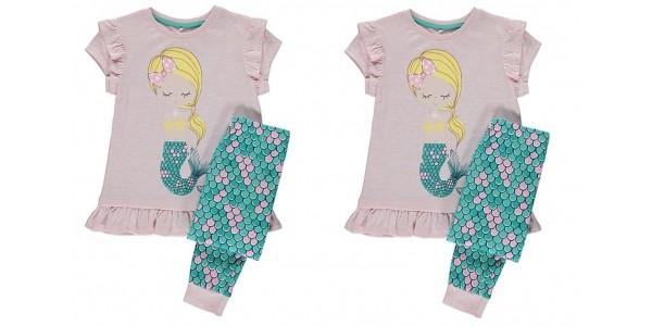Mermaid Pyjamas £7 @ Asda George