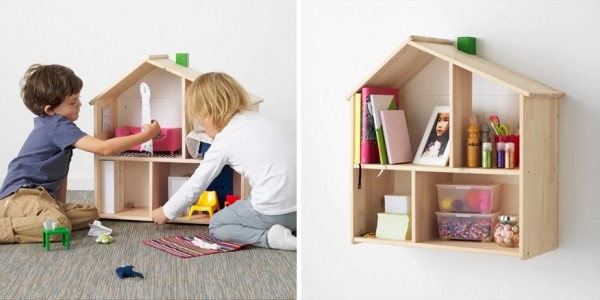 FLISAT Dolls House / Wall Shelf £23 @ Ikea