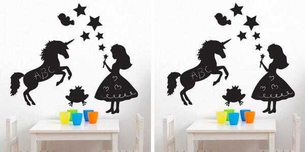 Magic Fairy Kingdom Chalkboard Wall Sticker Set £7.96 (was £12.99) @ Toys R Us