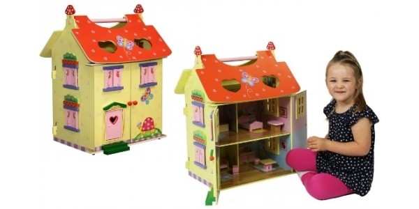 Teamson Magic Garden Dolls House With Furniture £45 Delivered @ Amazon