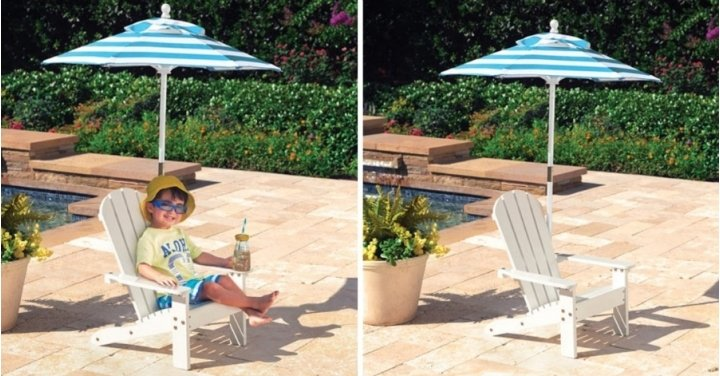 KidKraft Adirondack Chair With Umbrella Delivered Costco