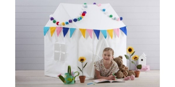 Decorate Your Own Canvas Playhouse Now £25 With Free Delivery @ Hobbycraft