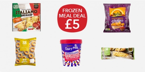 £5 Frozen Meal Deal @ Co-Op