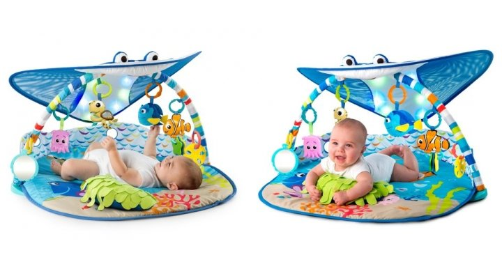 Disney Baby Finding Nemo Mr Ray Ocean And Lights Gym 163 49