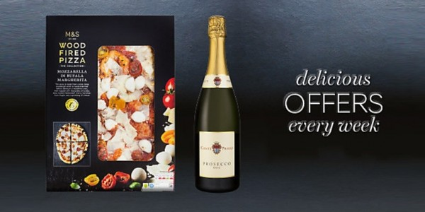 Pizza & Prosecco For £10 @ Marks & Spencer