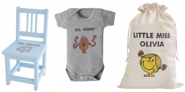 Personalised Little Miss/Mr Men Gifts @ My 1st Years