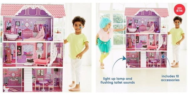 Luxury Manor Doll House £64 Delivered @ ELC