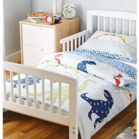 Mamia Toddler Bed With Mattress £69.99 Delivered @ Aldi