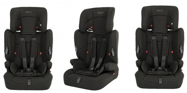 Graco Endure High Back Booster Car Seat (Group 1,2,3) £45 @ Tesco Direct