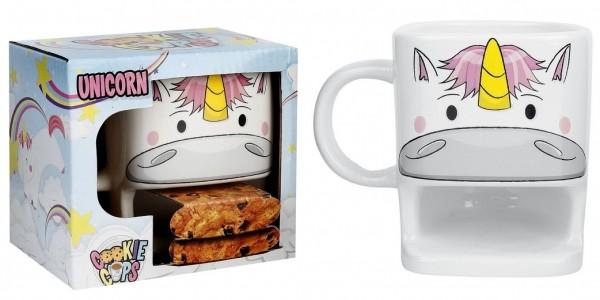 Unicorn Biscuit Holder Mug £9.06 Delivered @ Amazon Seller: Findmeagift