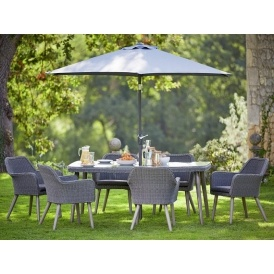 Heart Of House Rio Rattan Effect 6 Seater Dining Set Now 163