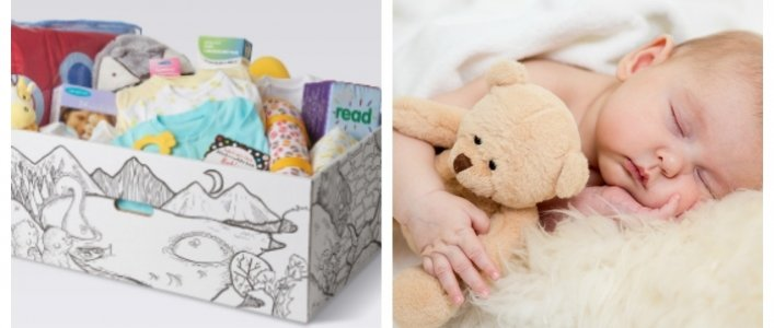 Scottish New Mums Get Baby Boxes