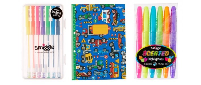 3 For £5 On Back To School Goodies @ Smiggle