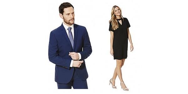 20% Off Selected Women's & Men's Formal Clothing @ Tesco Direct