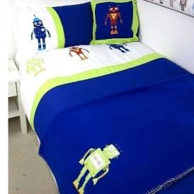 Robots 4 Piece Bedding Set £10.95 Delivered