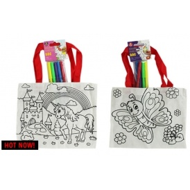 Colour Your Own Everyday Bag £1