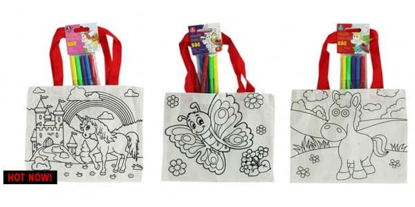 Colour Your Own Everyday Bag £1 @ The Works