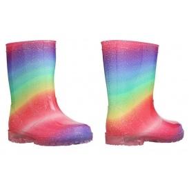 Rainbow Light Up Wellies £9