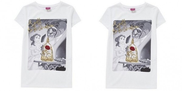 Beauty And The Beast Kids Sequin T-Shirt £4 (was £8) @ Tesco