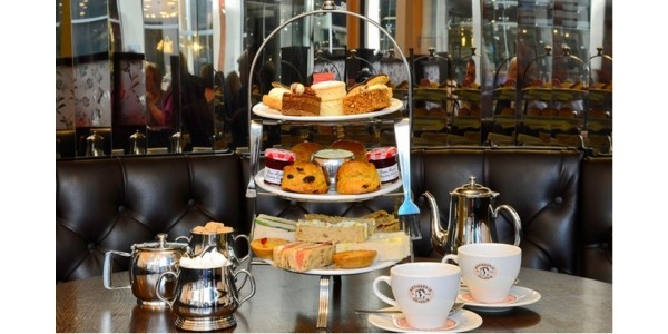 Afternoon Tea For Two at Patisserie Valerie Just £19 @ Groupon