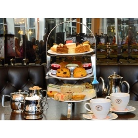 Afternoon Tea For 2 at Patisserie Valerie