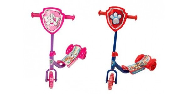 Paw Patrol 3 Wheel Scooter Now £15.99 @ Very